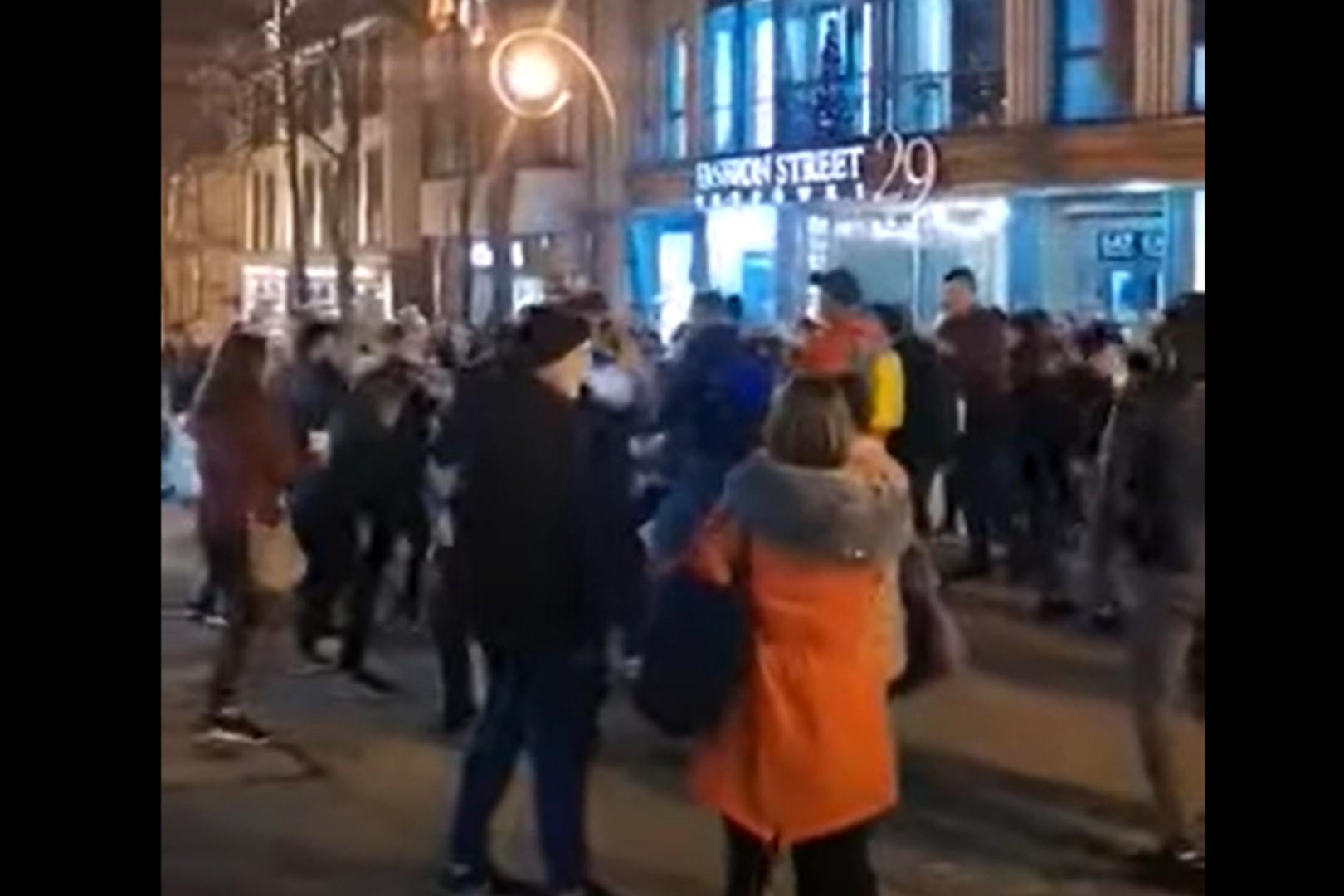 Turyści tańczyli na Krupówkach w majówkową noc