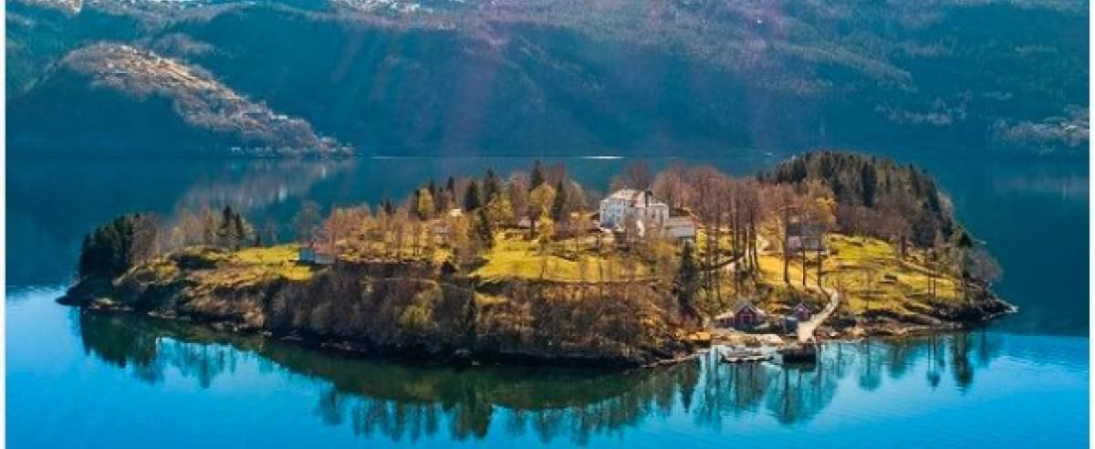 wyspa w norwegii