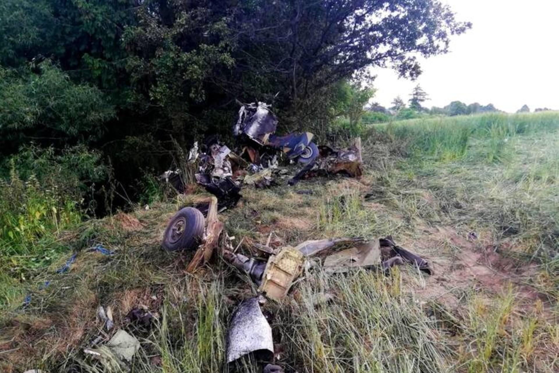 Katastrofa samolotu wracającego z pokazów w Lesznie