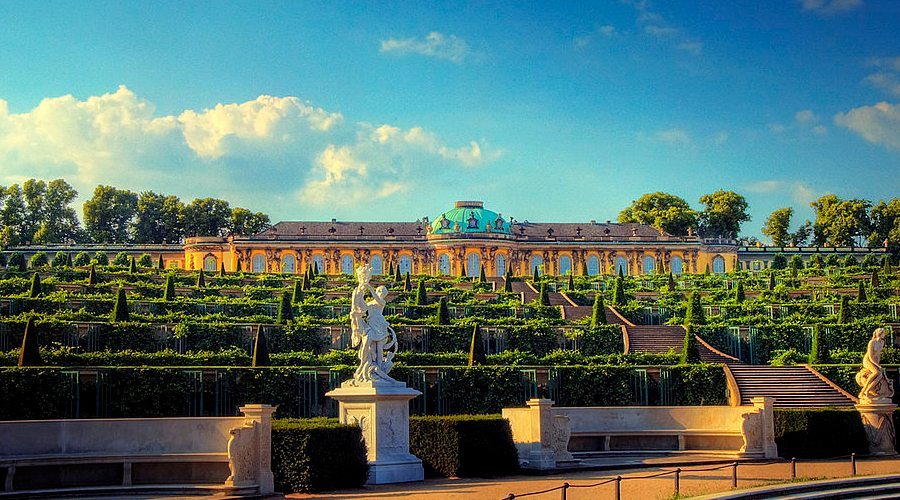 Brandenburgia się otwiera. Sanssouci
