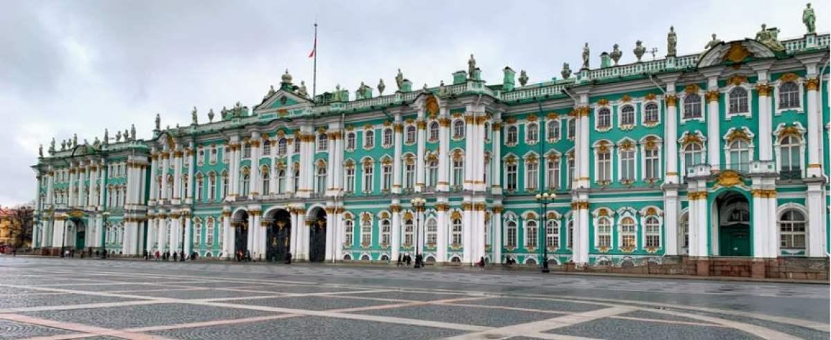 Petersburg to dawna stolica Rosji