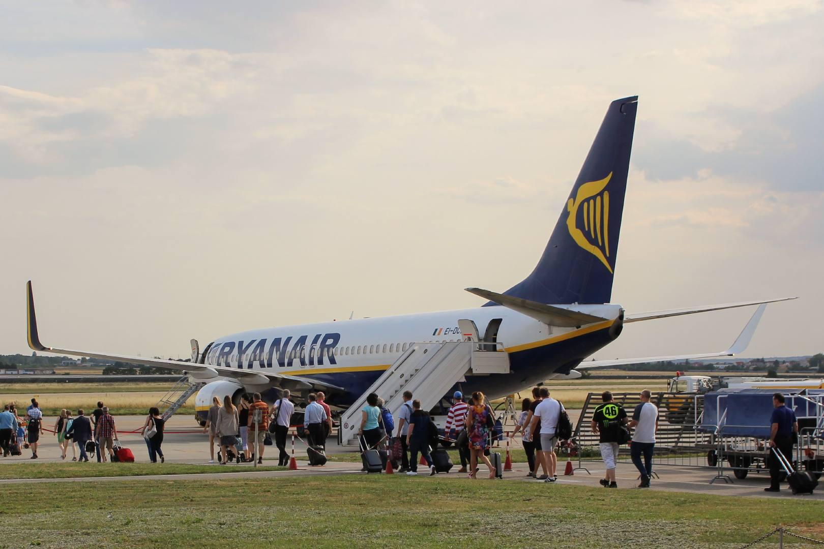 Ryanair nie wpuścił ani jednego pasażera na pokład