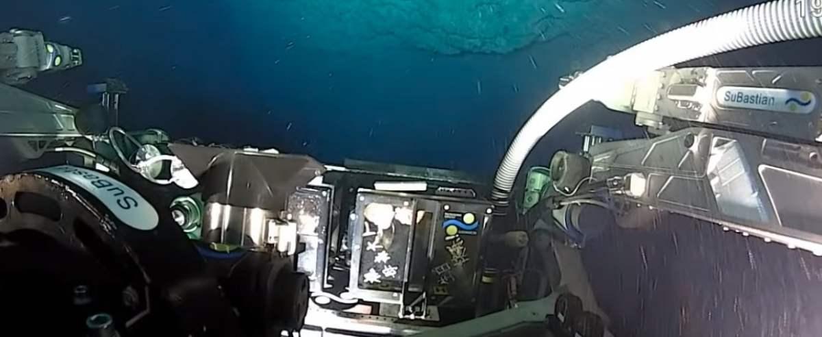 odkrycie na dnie oceanu