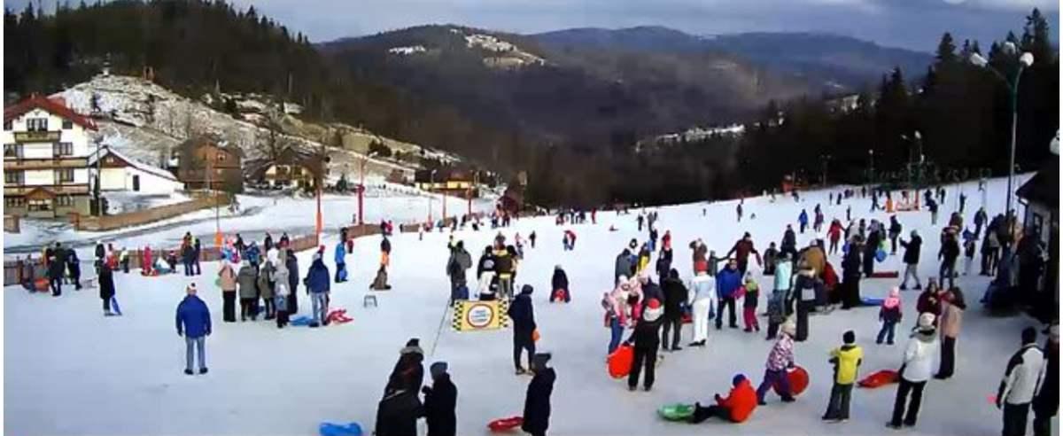 Jak nie narty to sanki