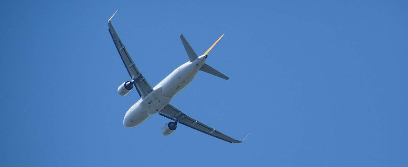 lot samolot pandemia