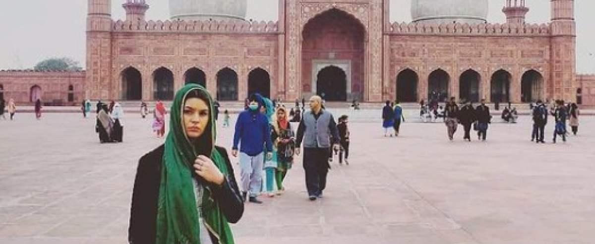 Maja z mężem z Pakistanu