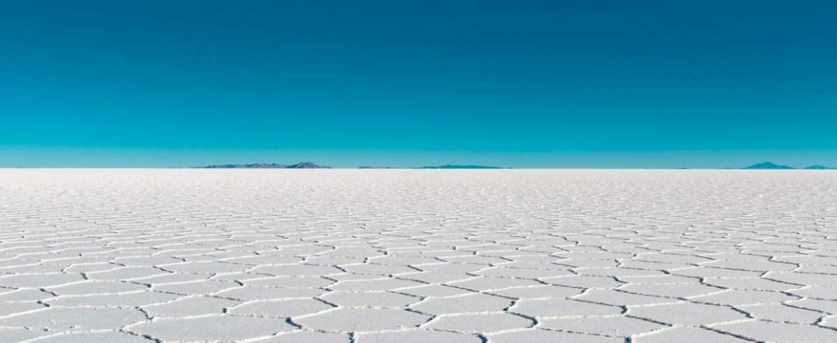 Boliwia wyschnięte jezioro