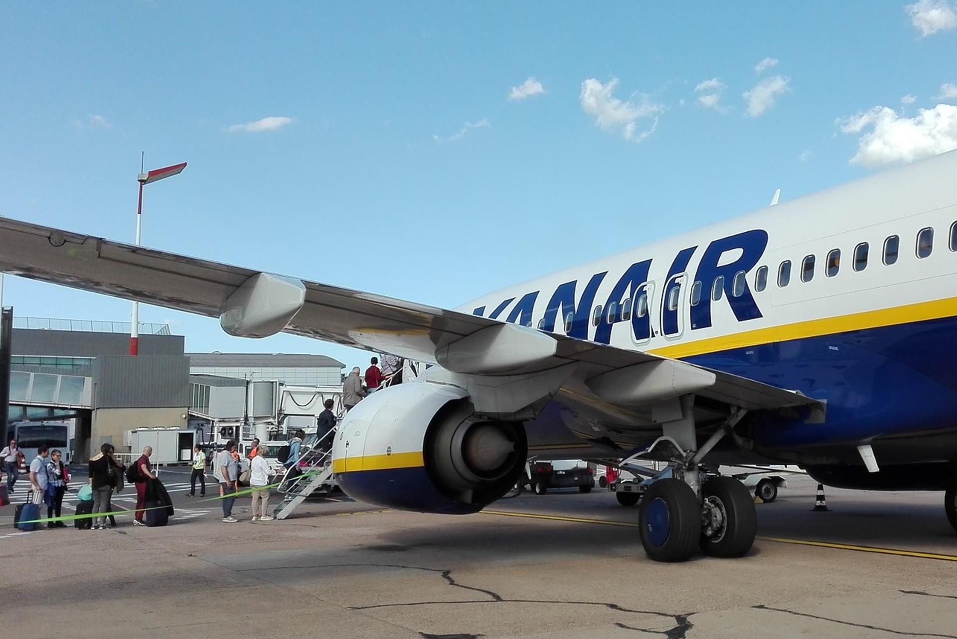Ryanair odleciał bez 50 pasażerów