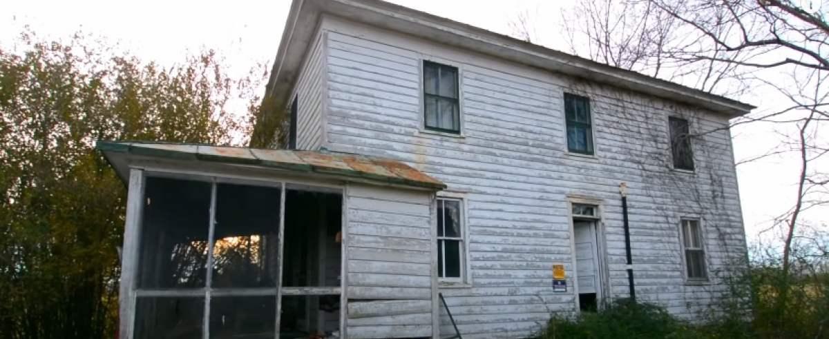 Dom opuszczony w Maryland