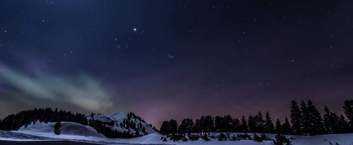 niebo świąteczna gwiazda