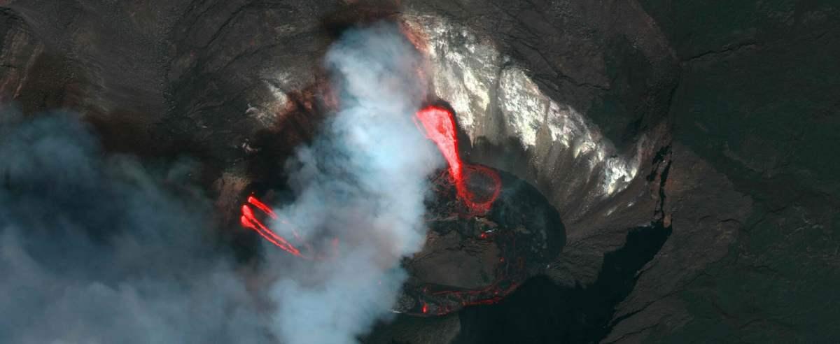 TVP informuje o wybuchu na Hawajach