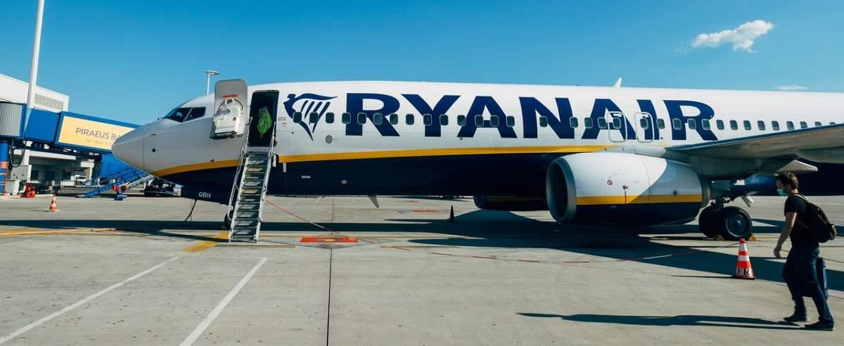Agresywny pasażer w Ryanair