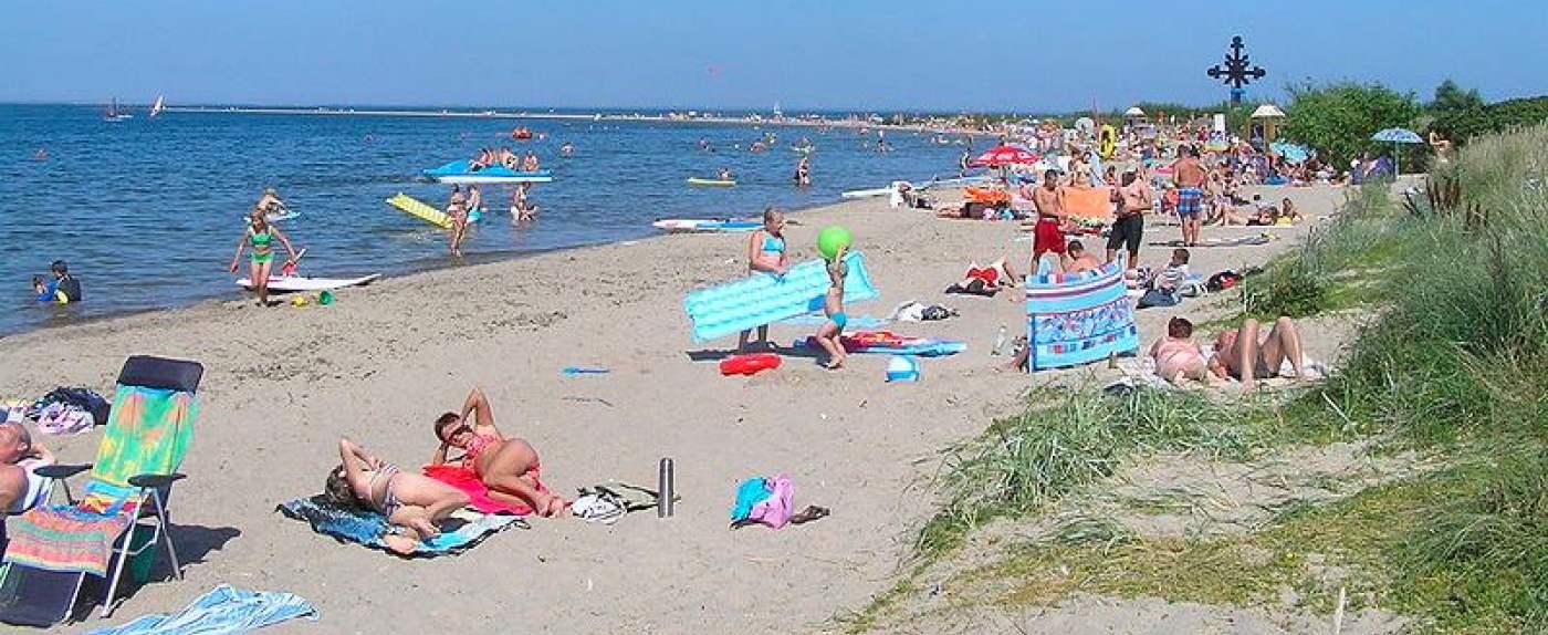 plaża obnaża słabości