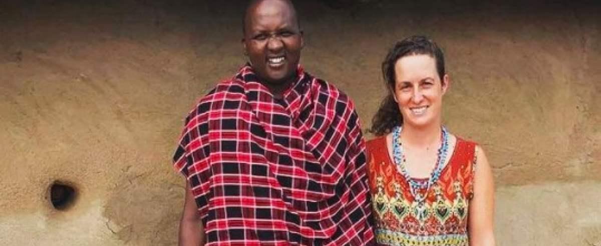 kobieta poślubiła Masaja