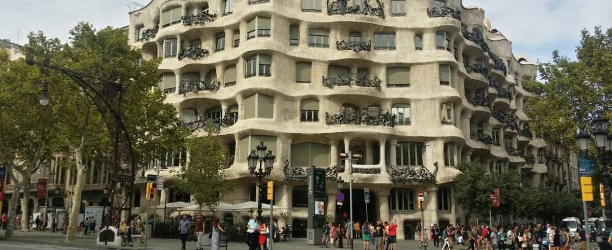 Barcelona piękna dzielnica