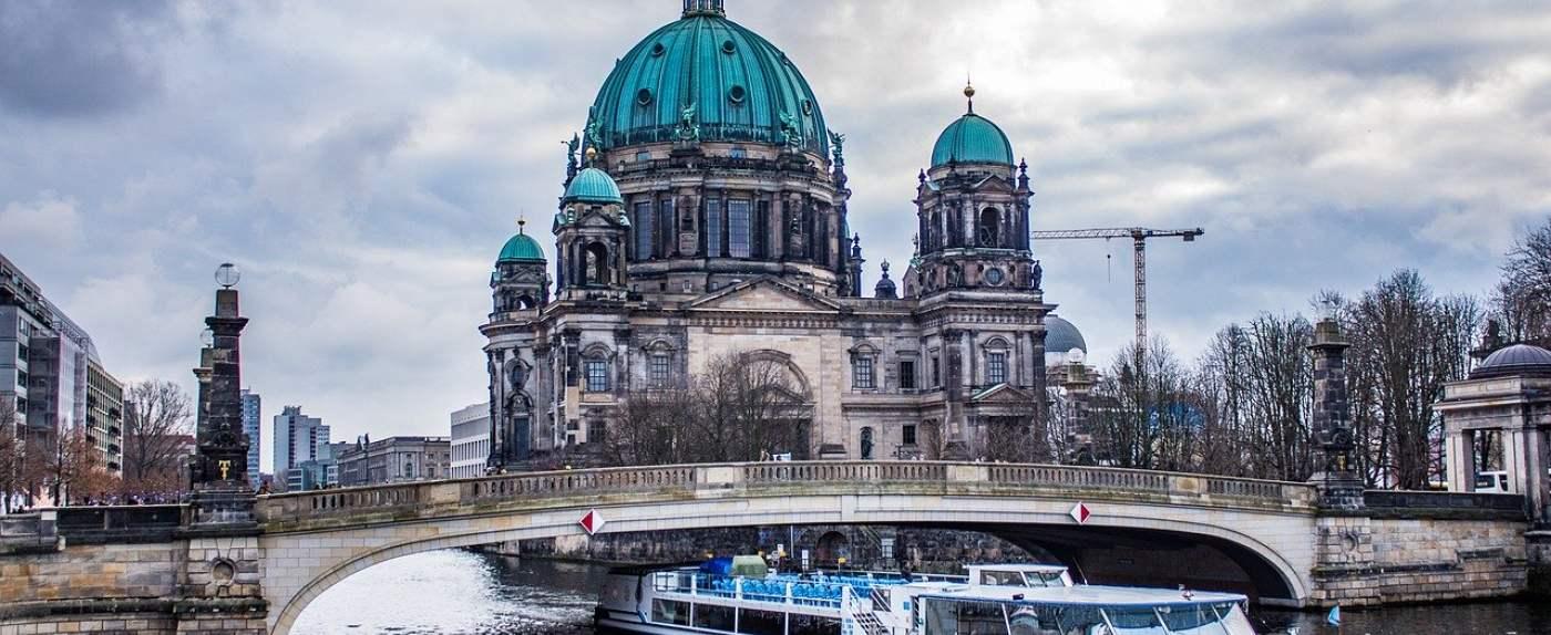 Berlin z góry.