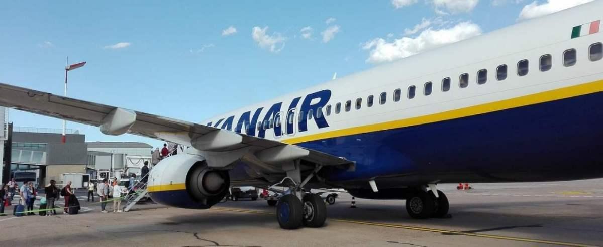 Ryanair reaguje na skandal z politykiem
