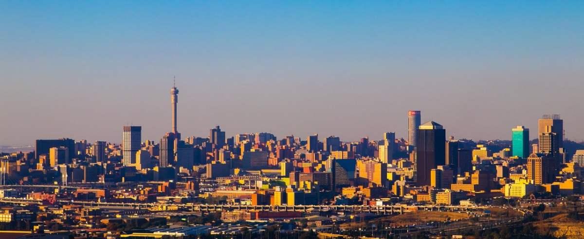Johannesburg miasto RPA