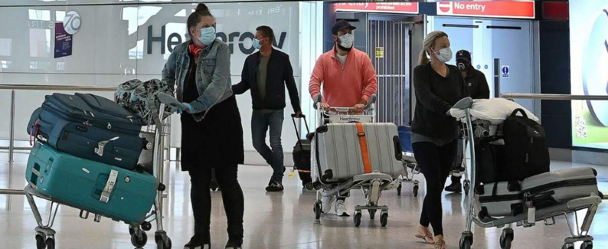 linia lotnicza wprowadza szczepienia dla załogi