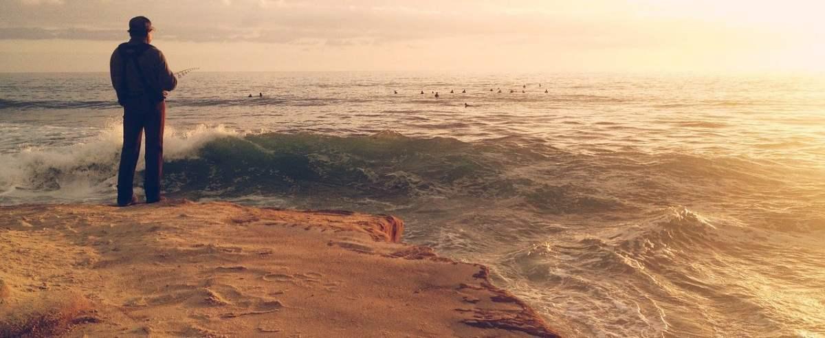 skarb na plaży