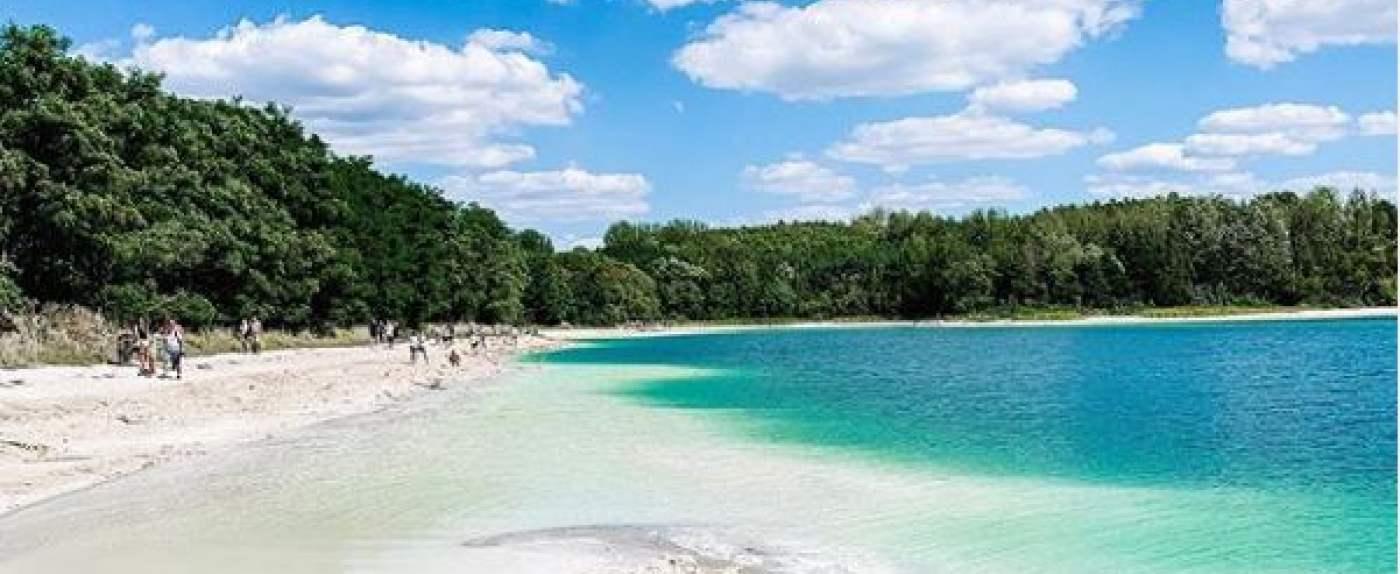 """jezioro nazywane """"polskimi Malediwami"""""""