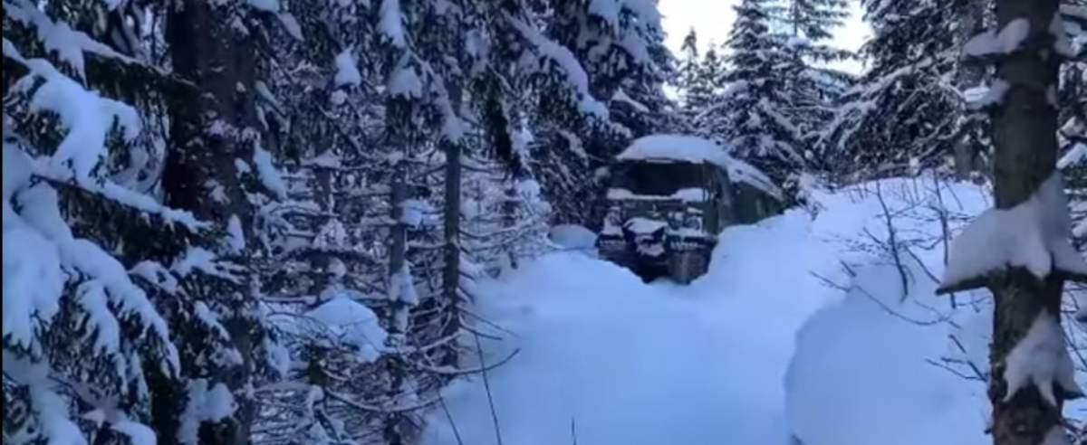 schronisko śnieżny czołg