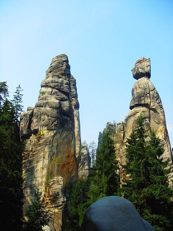 skalne miasto w czechach/fot. wikimedia.org/ARKADIUSZ MARKIEWICZ/CC BY-SA 3.0/https://creativecommons.org/licenses/by-sa/3.0/deed.en