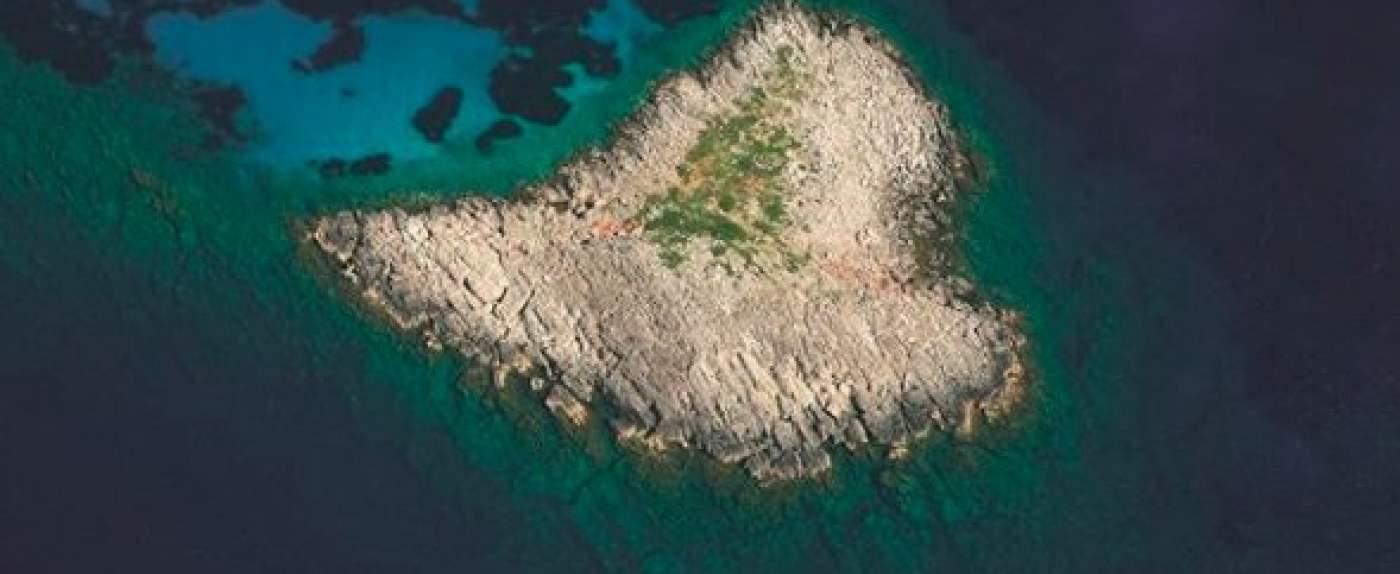 Serce na morzu - to prawdziwa wyspa.