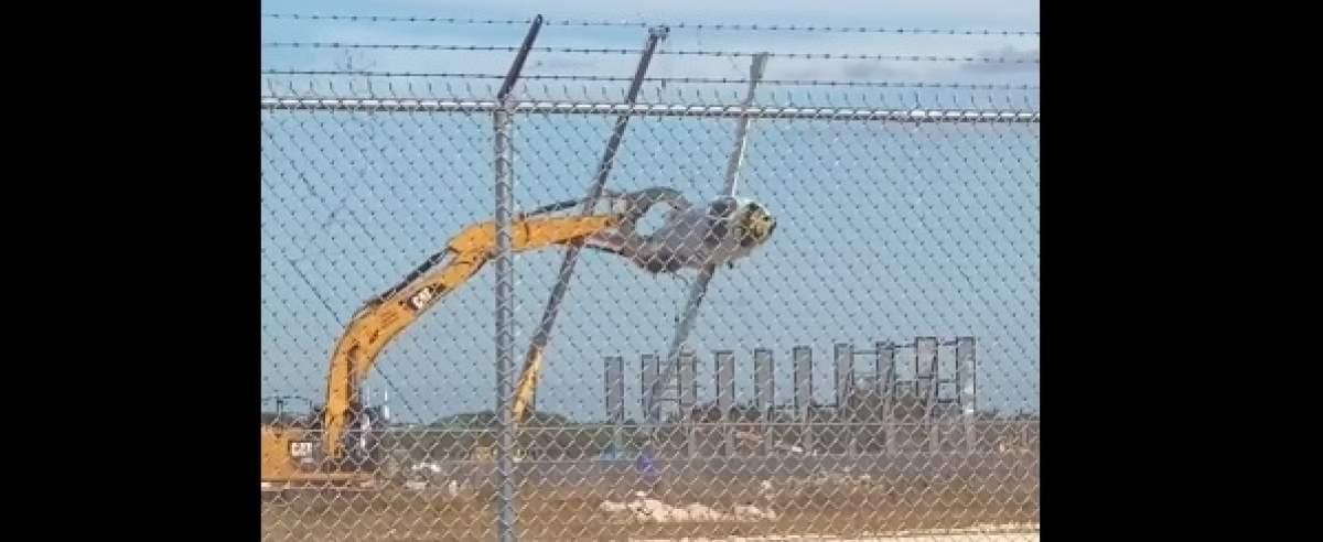nagranie z małego lotniska