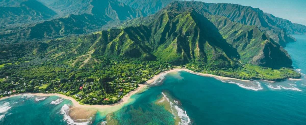 odkrycie na Hawajach