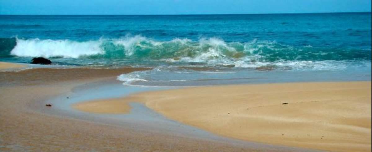 morze, odpływ to ostrzeżenie