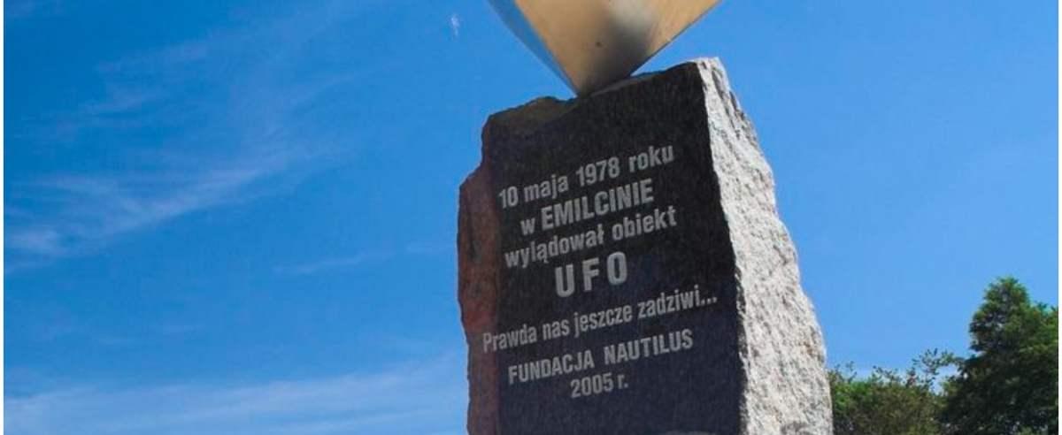 Emilcin miejscem lądowania UFO?
