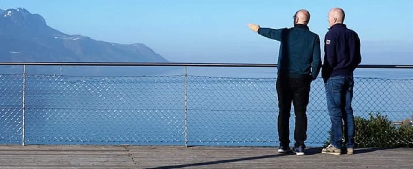 Turyści z tańszym wyjazdem do Szwajcarii.