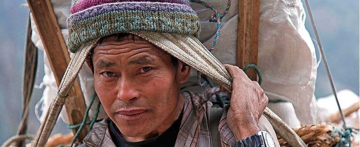 Szerpowie są mieszkańcami Nepalu