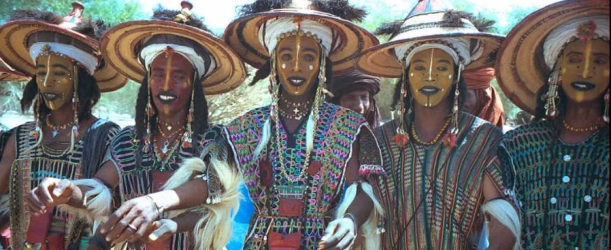 Afrykańskie plemię Wodaaba