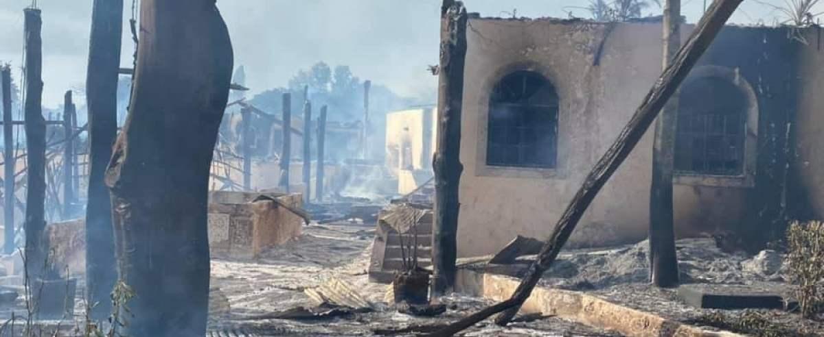 Polacy wśród poszkodowanych pożaru