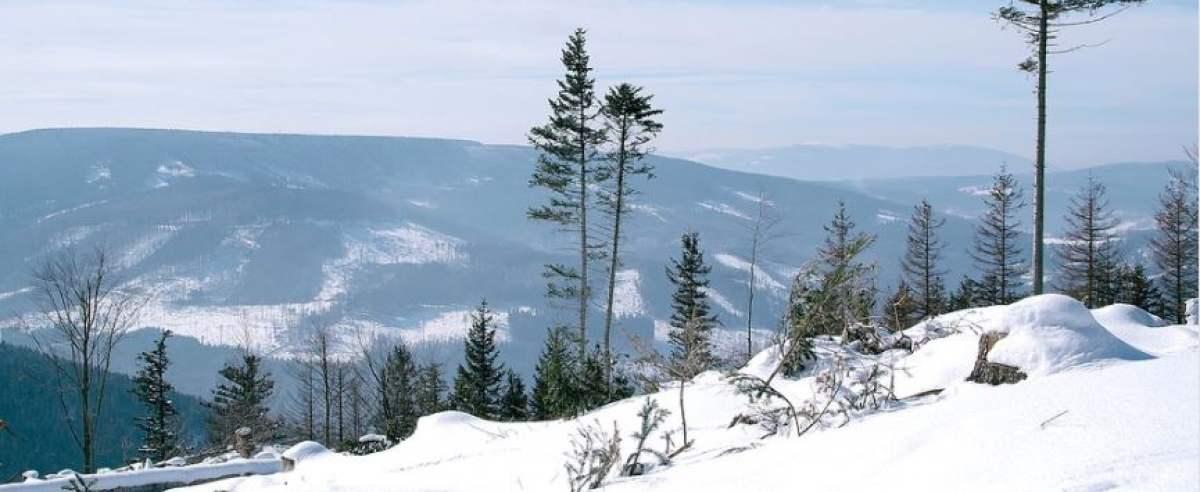 Góry Opawskie zimą