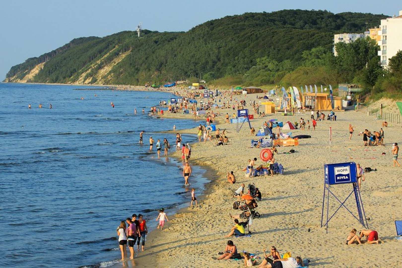 Co z maseczkami na plażach w Polsce