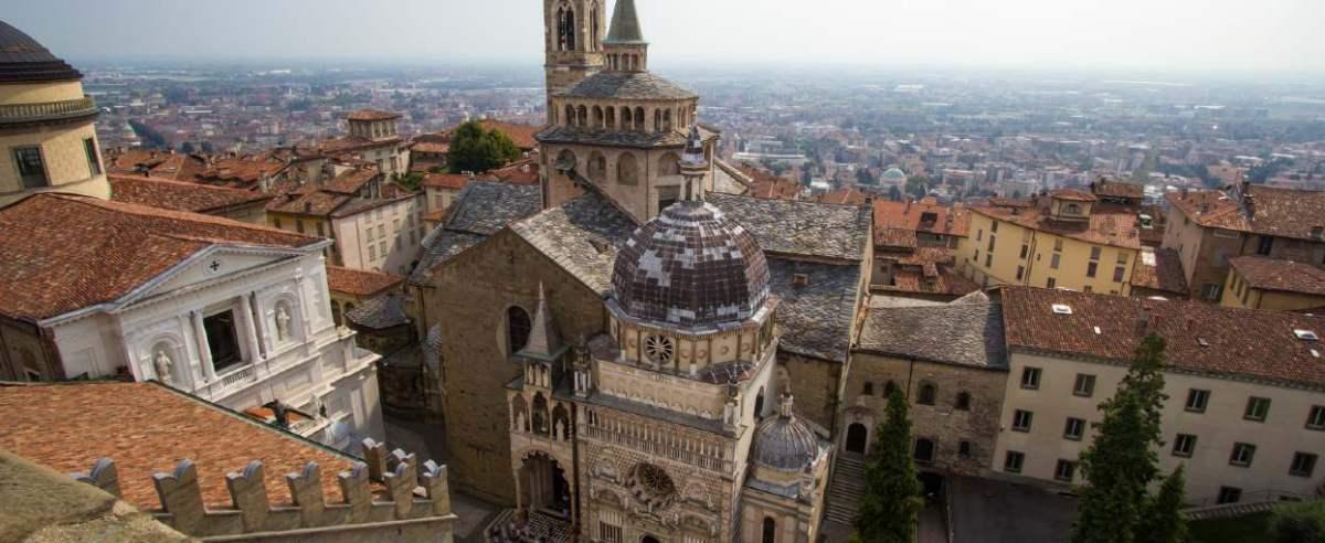 Bergamo popularne miasto
