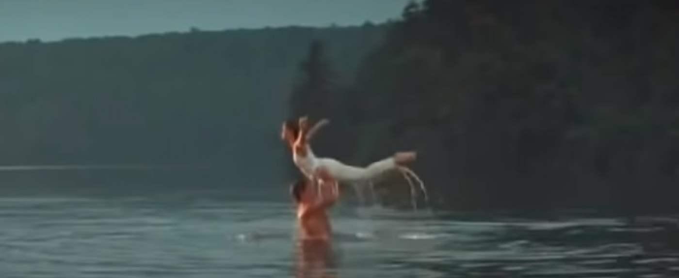 """Jezioro popularne dzięki filmowi """"Dirty Dancing"""""""