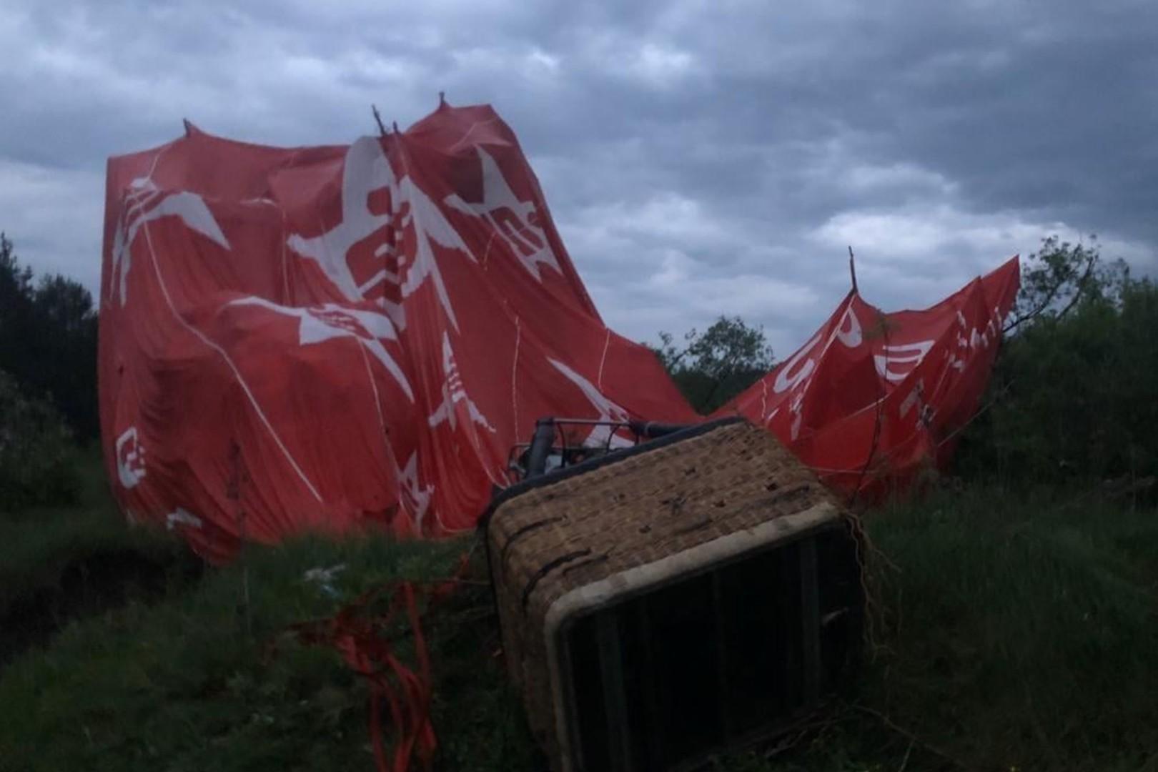 1 osoba nie żyje, wypadek na festiwalu balonowym
