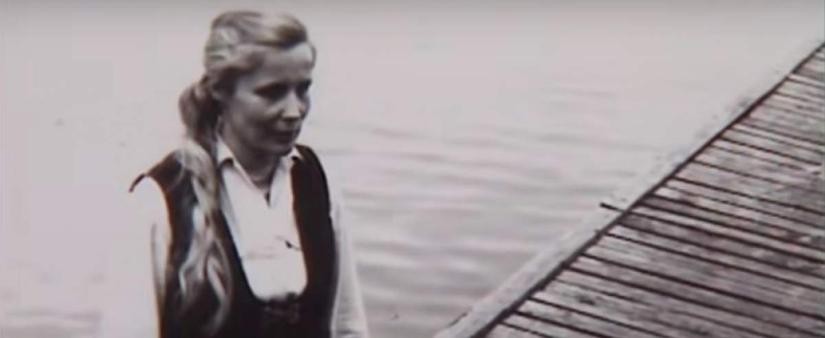 Agnieszka Osiecka w Krzyżach