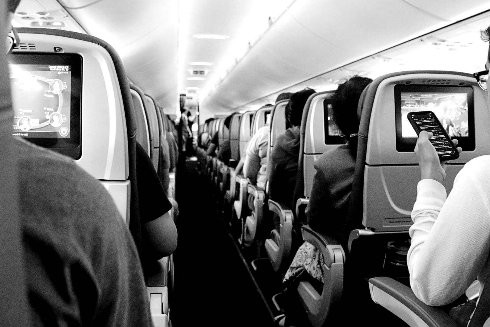 Samolot - pasażerka zmarła