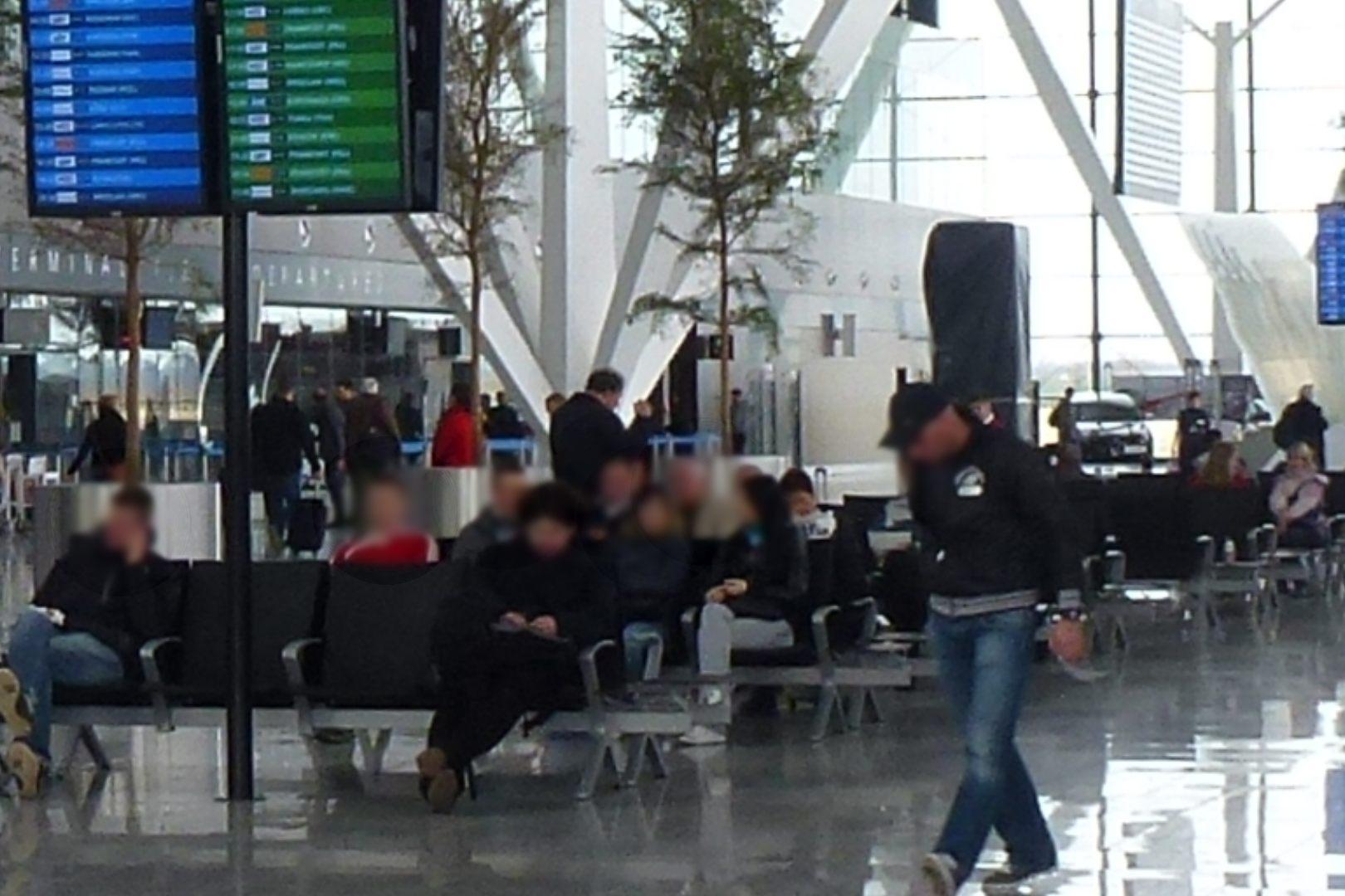Kobieta powiedziała na lotnisku w Gdańsku, że ma bombę