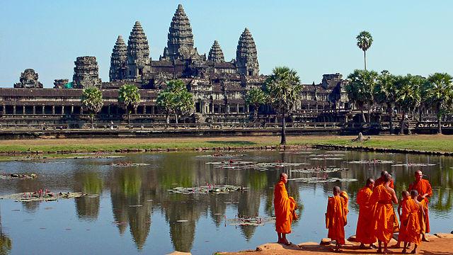 Kambodża, świątynie Angkor