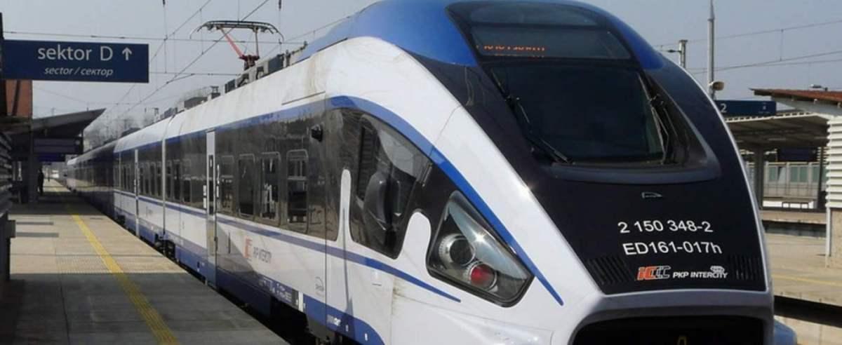 Pociągi będą jeździły szybciej