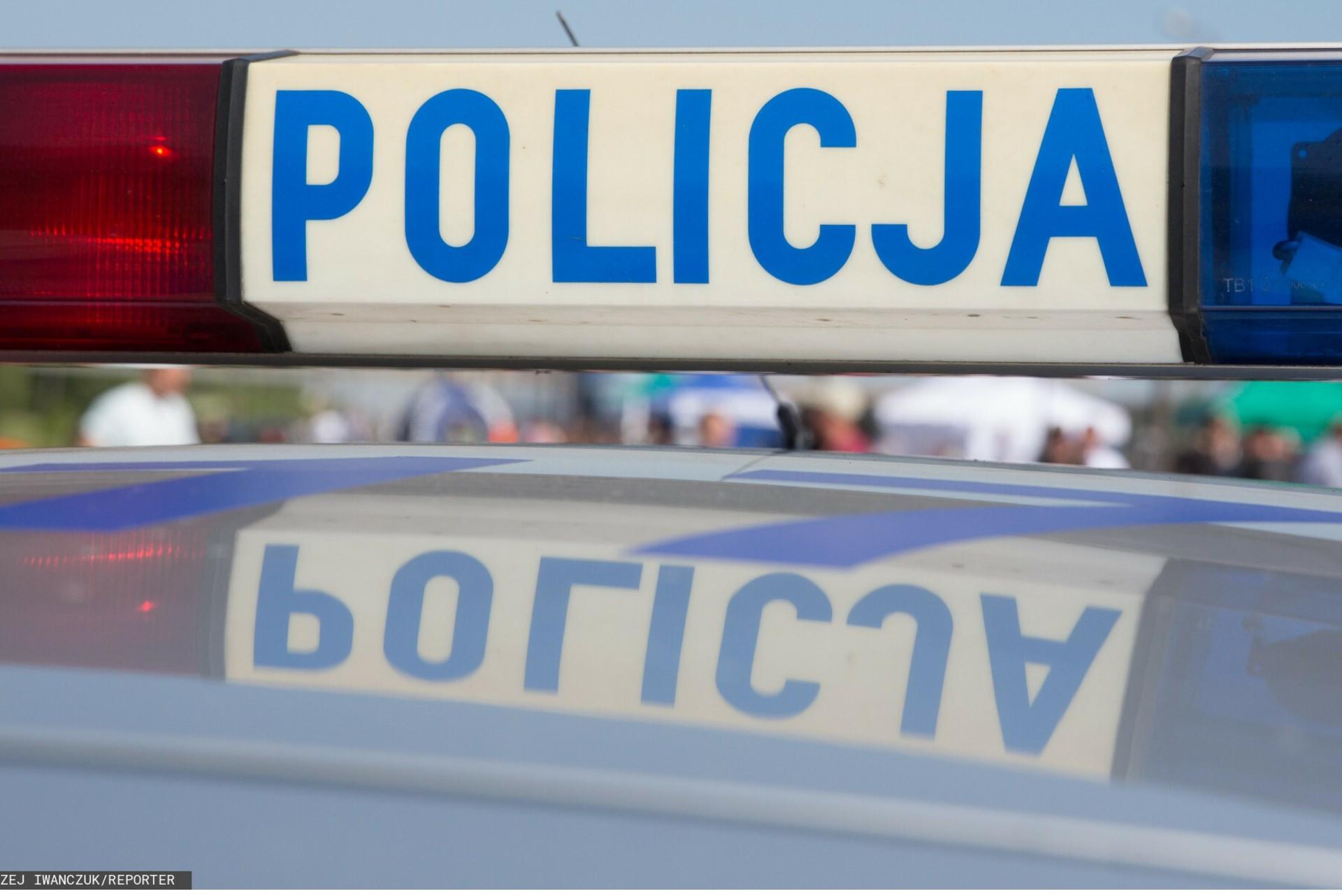 Atak na plażowicza w Kryspinowie