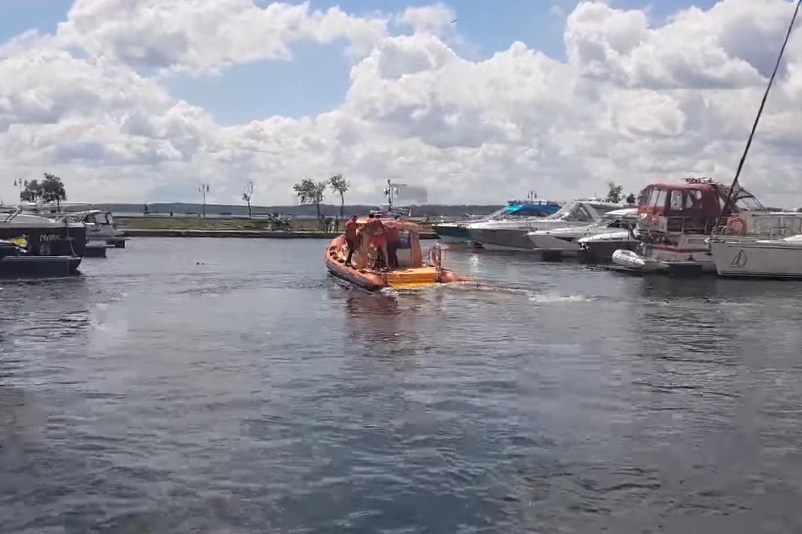 Zatonęła łódź na Mazurach