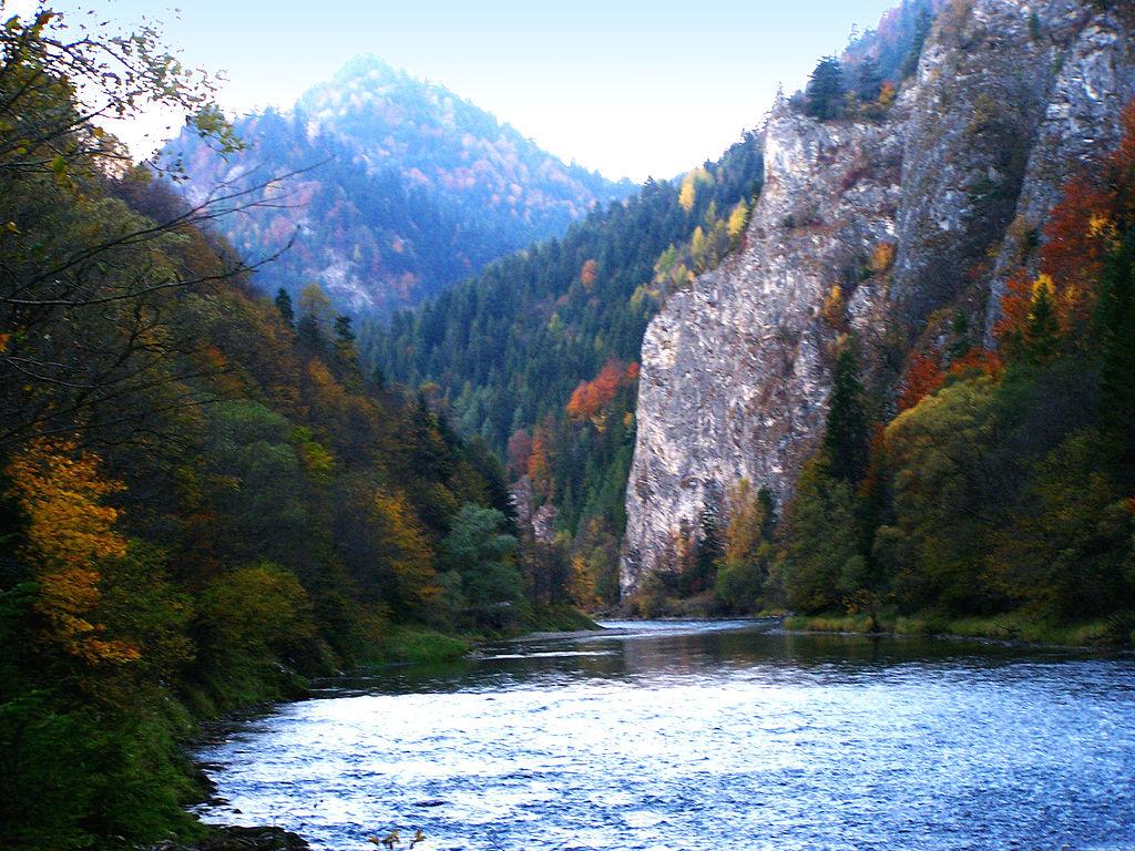 Przełom Dunajca, Pieniny