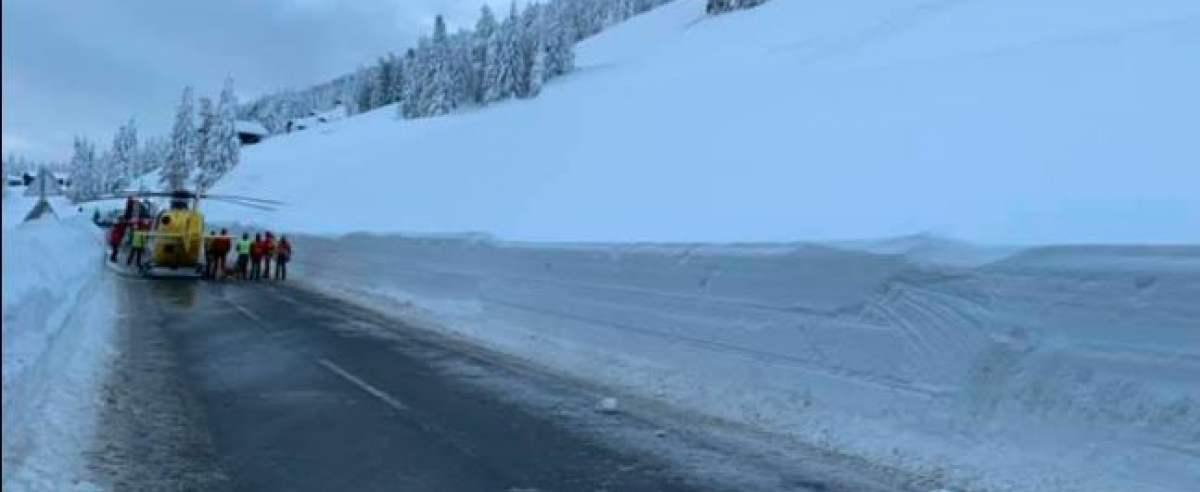 zdjęcia śniegu w Austrii